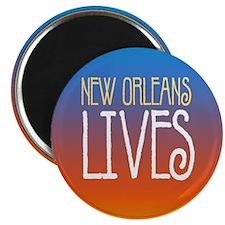 New Orleans Lives! Magnet