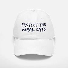 Protect the Feral Cats Baseball Baseball Cap