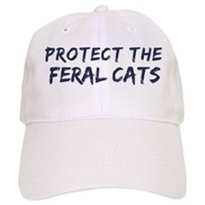 Protect the Feral Cats Baseball Cap