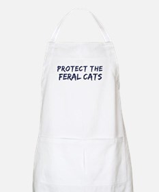 Protect the Feral Cats BBQ Apron