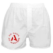 No Gods No Masters Boxer Shorts