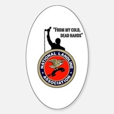NLA Oval Decal