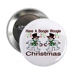 """Boogie Christmas 2.25"""" Button (100 pack)"""