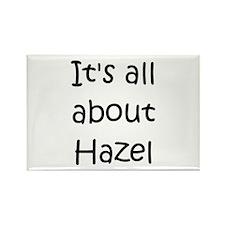 Unique Hazel Rectangle Magnet