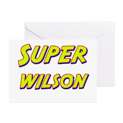Super wilson Greeting Cards (Pk of 10)