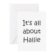Unique Hallie Greeting Cards (Pk of 10)