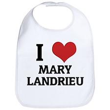 I Love Mary Landrieu Bib
