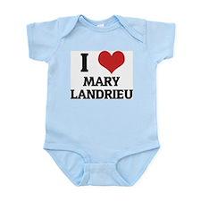I Love Mary Landrieu Infant Creeper