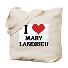 I Love Mary Landrieu Tote Bag
