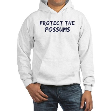 Protect the Possums Hooded Sweatshirt