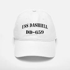 USS DASHIELL Baseball Baseball Cap