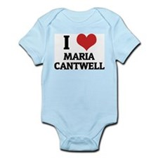 I Love Maria Cantwell Infant Creeper