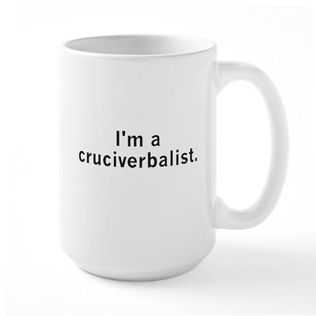 Cruciverbalist Large Mug