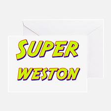 Super weston Greeting Card