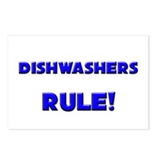 Dishwashers Rule! Postcards (Package of 8)