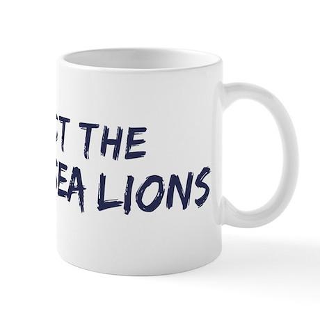 Protect the Steller Sea Lions Mug