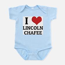 I Love Lincoln Chafee Infant Creeper