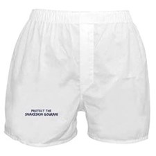 Protect the Snakeskin Gourami Boxer Shorts
