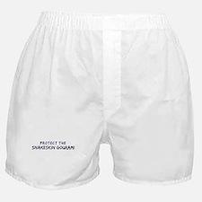 Protect the Snakeskin Gourami Boxer Shorts