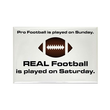 REAL Football Rectangle Magnet