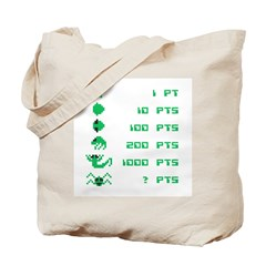 Point Value Tote Bag