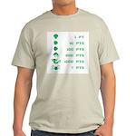 Point Value Light T-Shirt