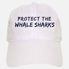Protect the Whale Sharks Baseball Baseball Cap