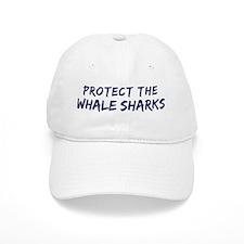 Protect the Whale Sharks Baseball Cap