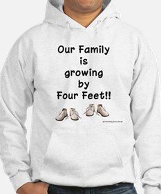 Growing by Four Feet Jumper Hoody