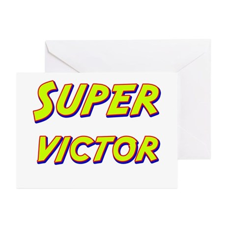 Super victor Greeting Cards (Pk of 20)