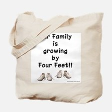 Growing by Four Feet Tote Bag
