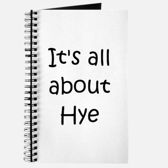 Cool Hye Journal