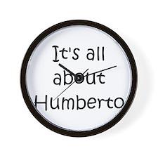 Funny Humberto Wall Clock