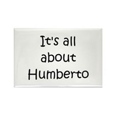 Funny Humberto Rectangle Magnet