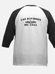 USS DAVIDSON Kids Baseball Jersey