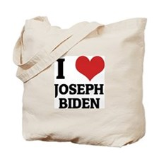 I Love Joseph Biden Tote Bag