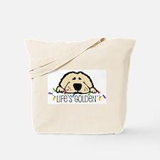 Life's Golden Christmas Tote Bag