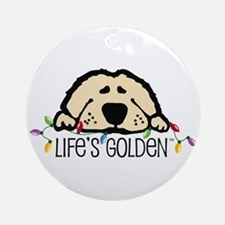 Life's Golden Christmas Keepsake (Round)