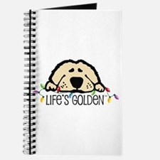 Life's Golden Christmas Journal