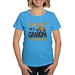 Grandpa Brought it Women's Dark T-Shirt