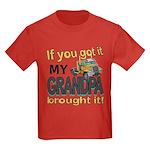 Grandpa Brought it Kids Dark T-Shirt