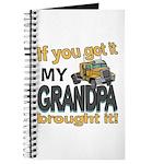 Grandpa Brought it Journal