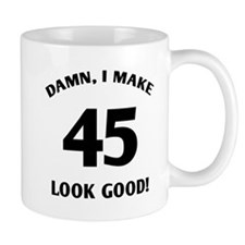 Sexy 45th Birthday Gift Mug