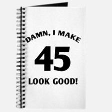 Sexy 45th Birthday Gift Journal