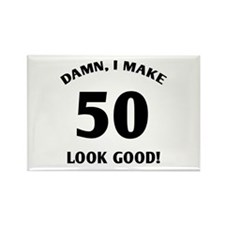 Sexy 50th Birthday Gift Rectangle Magnet