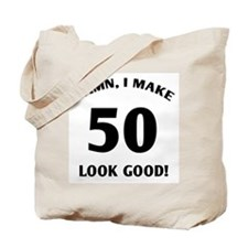 Sexy 50th Birthday Gift Tote Bag