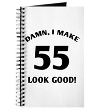 Sexy 55th Birthday Gift Journal