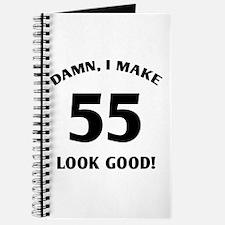 Sexy 55th Birthday Gift Journal