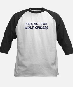 Protect the Wolf Spiders Kids Baseball Jersey