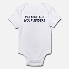 Protect the Wolf Spiders Infant Bodysuit